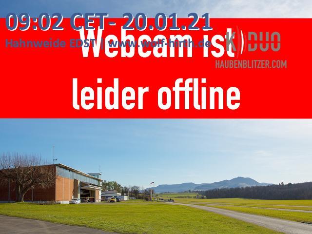 Webcam 1 auf der  Hahnweide